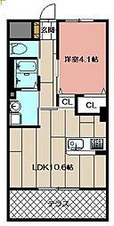 (仮)本城東マンション[202号室]の間取り
