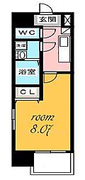 ArtizA千代田[11階]の間取り