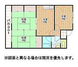 小倉南センタービル[3階]の間取り