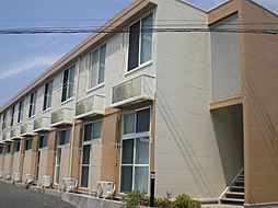 千葉県流山市加3丁目の賃貸アパートの外観