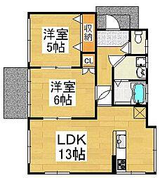 [一戸建] 福岡県福岡市西区下山門3丁目 の賃貸【/】の間取り