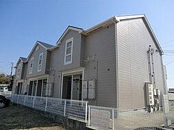 兵庫県明石市魚住町中尾の賃貸アパートの外観