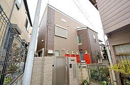 東京都練馬区練馬1丁目の賃貸アパートの外観