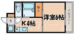 広島県安芸郡海田町南昭和町の賃貸マンションの間取り