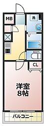 エスティライフ新大阪第2[2階]の間取り