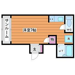 きたむらビル[2階]の間取り