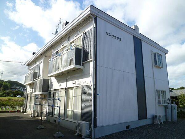 サンプラザB 2階の賃貸【茨城県 / 日立市】