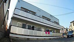 埼玉県川口市朝日6丁目の賃貸アパートの外観
