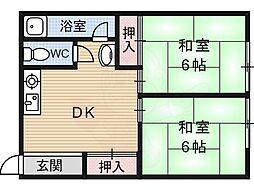 桃山南口駅 4.5万円