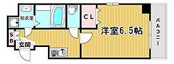プライムコート玉川[6階]の間取り