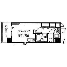 MSM町田[2階]の間取り