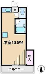 TIC神谷[4階]の間取り
