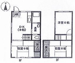 [テラスハウス] 静岡県裾野市石脇 の賃貸【/】の間取り