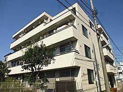 東京都調布市下石原1丁目の賃貸マンションの外観
