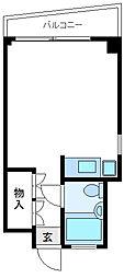 KBシティビル[4階]の間取り
