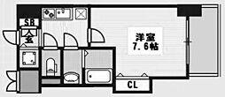ラグゼ新大阪IV[807号室]の間取り
