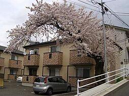 宮城県仙台市青葉区小松島2丁目の賃貸アパートの外観