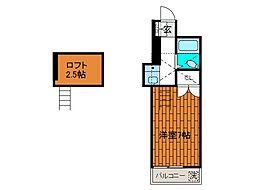 キャロットハウス町田[2階]の間取り