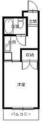 長崎県長崎市扇町の賃貸マンションの間取り
