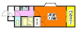 パレイースト小阪 501号室[5階]の間取り