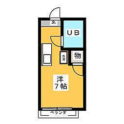 メゾン藤[2階]の間取り