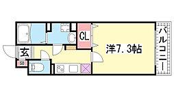 KTIレジデンス神戸元町[402号室]の間取り