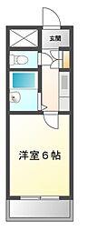 三山ビル[2階]の間取り