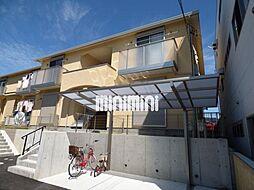 愛知県名古屋市緑区鴻仏目1丁目の賃貸アパートの外観