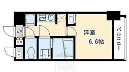 エスライズ京都河原町[2階]の間取り