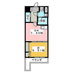 TRIBUTE尾張町[2階]の間取り