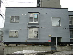 北海道札幌市清田区清田一条1丁目の賃貸アパートの外観