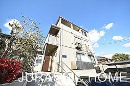 大阪府堺市北区東浅香山町2丁の賃貸アパートの外観