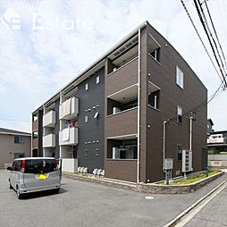 愛知県名古屋市瑞穂区亀城町3丁目の賃貸アパートの外観