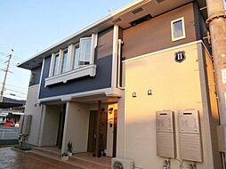 和歌山県和歌山市善明寺の賃貸アパートの外観