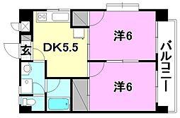 プチメゾン竹内II[306 号室号室]の間取り