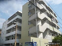 大阪府東大阪市山手町の賃貸マンションの外観