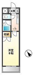 テナ21[1階]の間取り