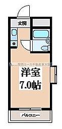 リリーフ明日香新石切[5階]の間取り