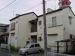 筑波コーポ[202号室]の外観