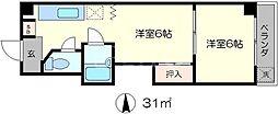サンチェリー高田III[3階]の間取り
