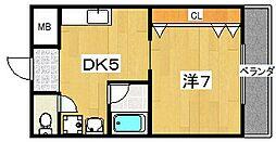ベルフォーレ[3階]の間取り