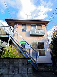 埼玉県所沢市榎町の賃貸アパートの外観