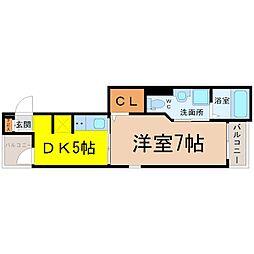 K2ハウス[1階]の間取り