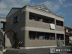愛知県豊田市荒井町能田原の賃貸アパートの外観