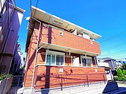 東京都小平市小川西町5丁目の賃貸アパートの外観