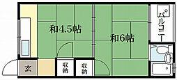 藤川荘[3階]の間取り
