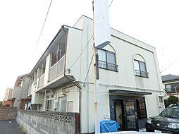 埼玉県行田市向町の賃貸アパートの外観