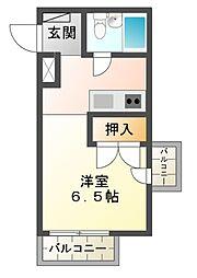 ALECX五井[3階]の間取り