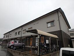 大阪府堺市中区田園の賃貸アパートの外観