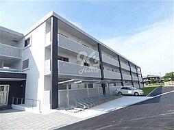兵庫県明石市二見町西二見の賃貸マンションの外観